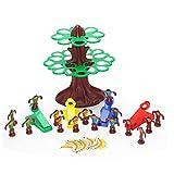 Banbie Gioco da Tavolo per Bambini Rimbalzo Scimmia Oscillazione Equilibrio Animale Giocattolo Gioco Interazione Genitore-Figlio Scimmia Salta all'albero