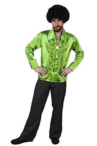 Fancy Dress Stardust Kostüm Ziggy (DISCO DANCE NIGHT FEVER KOSTÜM FÜR DIE PERFEKTE KULT ODER HITPARADEN VERKLEIDUNG DER 70iger ODER 80iger JAHRE UND FÜR DIE PERFEKTE KOSTÜMIERUNG AN FASCHING ODER KARNEVAL= VON ILOVEFANCYDRESS®= EIN MUß)