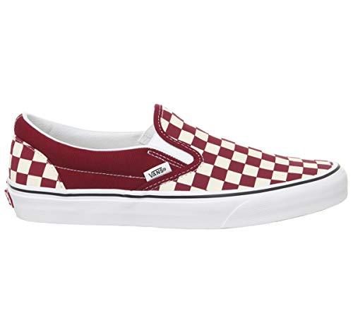 Vans Classic Slip-On Checkerboard Rumba Red 46