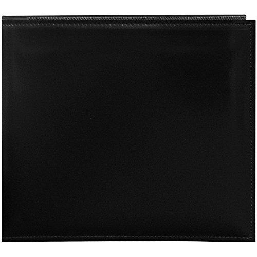Pioneer 20,3cm von 20,3cm Snapload genäht Kunstleder Memory Book, schwarz (Pioneer 8x8 Scrapbook Album)
