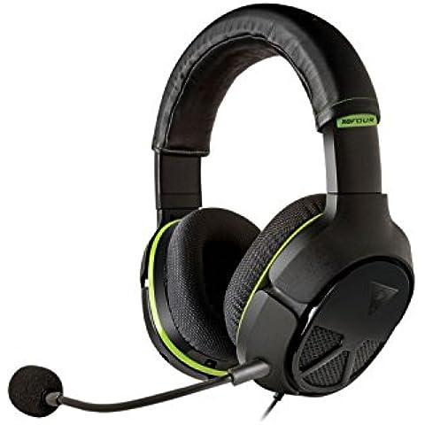 Turtle Beach - Auriculares Ear Force XO Four Stealth Para Juegos De Alto Rendimiento (Xbox One)