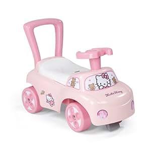 Smoby - 443010 - Vélo et Véhicule pour Enfant - Hello kitty - Porteur Auto