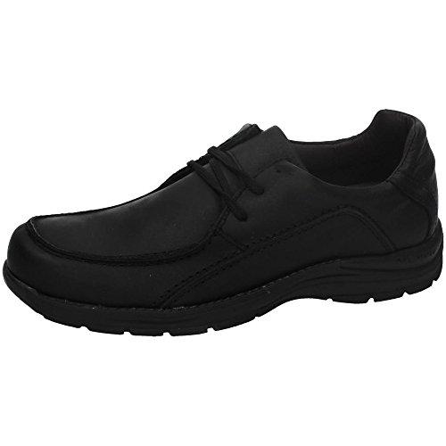 RIVERTY , Chaussures de ville à lacets pour homme Noir