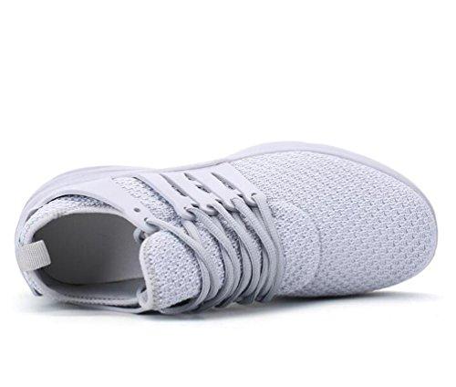 Mesh Lightweight Athletic Air Kissen Laufen Breathable Tennis Bequeme Basketball Lace-up Herrenschuhe EU Größe 39-44 Grey