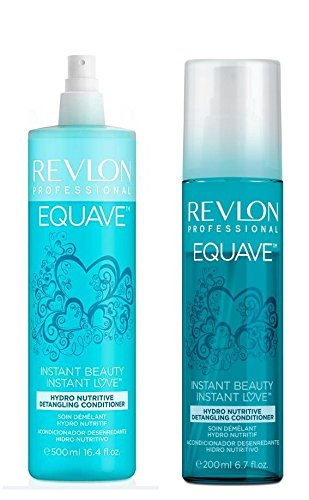 Revlon Equave Hydro Nutritive Detangling Conditioner 500ml and 200ml