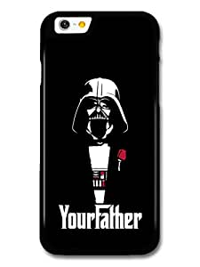 Darth Vader Star Wars Black Illustration Your Father The Godfather coque pour iPhone 6