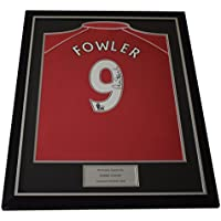 Sportagraphs Robbie Fowler SIGNED FRAMED Shirt Autograph Liverpool Football AFTAL COA PERFECT GIFT