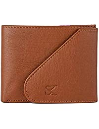 STYLER KING Men Tan Artificial Leather Wallet (6 Card Slots)