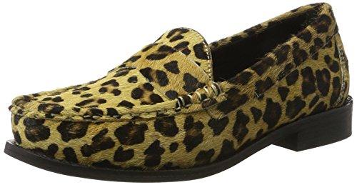 Bronx - Bx 1402 Bfrizox, Mocassini Donna Mehrfarbig (Leopard)