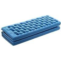 SODIAL(R) Esterilla plegable para exteriores (espuma EVA) azul azul