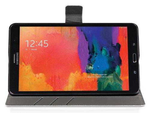 DONZO Wallet Washed Tablet Tasche für Samsung Galaxy Tab Pro 8.4 T320 T325 Weiß - 4