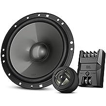 JBL Car CS7 - Serie de sistemas de altavoces amplificados de automóvil de componentes (6-1/2 pulgadas, 2 altavoces de rango medio, 2 altavoces de agudos/tweeter), color negro