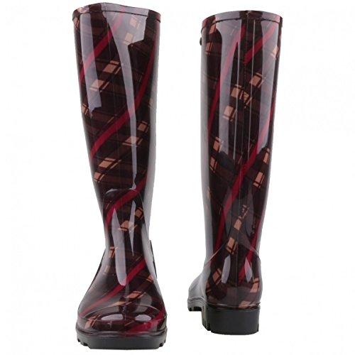 GOSCH SHOESGosch Shoes Sylt Damen 7101-502-851 - Stivali di gomma Donna Melanzana