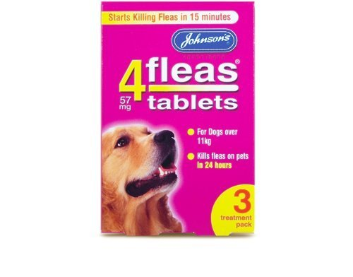 Price comparison product image Johnsons Veterinary Products 19-0295 Tablets for Dogs Treatment,  Large,  Set of 3
