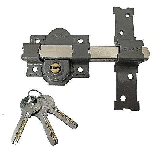 Wolfpack 3102132 Cerrojo B-6 Llave Seguridad Ambos Lados
