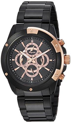 Burgmeister BM341-622 - Reloj de Pulsera Hombre, Color Negro