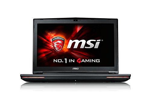 MSI GT726QF-089FR Ordinateur Portable Non tactile 17'(43,18 cm) Noir (Intel Core i7, 16 Go de RAM, 1 To, Nvidia GeForce 980, Windows 10)
