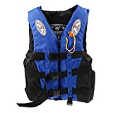 Vellex Professional Safety Life Jacket Vest Survival Suit with Whistle for Swimming Drifting