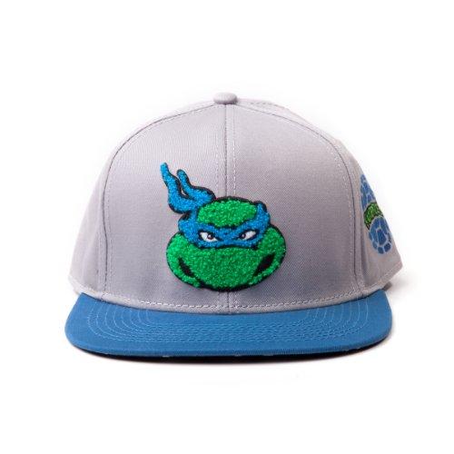 Teenage Mutant Ninja Turtles - Leonardo einstellbarer Cap Snap-Back Baseball Kappe Mütze Hut Original & (Teenage Mutant Turtles Original Kostüm Ninja)