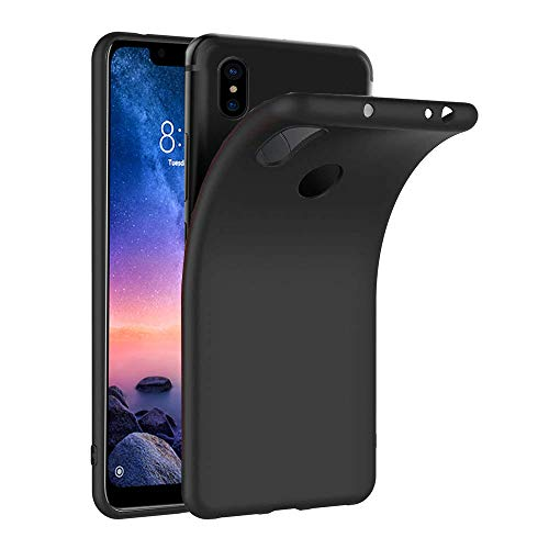 Ferilinso für Xiaomi Black Shark Helo Hülle, Ultra [Slim Thin] Kratzfestes TPU Gummi Weiche Haut Silikon Fall Schutzhülle für Xiaomi Black Shark Helo (Transparent)