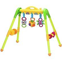 Goolsky Centre d'Activités Baby Play Gym Apprentissage Exercer Kit Jouets Détachables pour 0-1 an Bébés