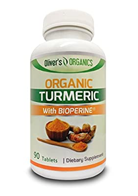 *SPECIAL LAUNCH PRICE* - Certified Organic Turmeric With Added Bioperine {For BETTER and INCREASED Absorption and Results!} - 90 Tablets/Capsules - Vegetarian Safe - UK Manufactured!
