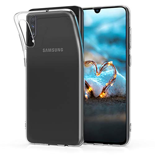 Transparent Handy (kwmobile Samsung Galaxy A70 Hülle - Handyhülle für Samsung Galaxy A70 - Handy Case in Transparent)