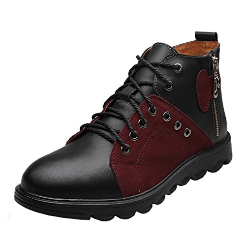 spades-clubs-mens-real-leather-stylish-trendy-fur-lined-winter-retro-casual-warm-walking-boots-size-