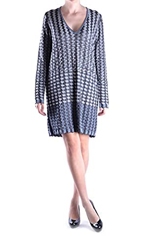 Missoni Damen Mcbi334004o Multicolour Wolle Kleid (Missoni Multi Color)