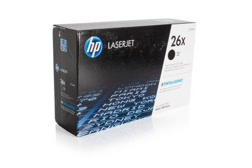 Preisvergleich Produktbild 1x Original XL HP Toner CF226X CF 226X 26X für HP Laserjet PRO MFP M 426 FDN - BLACK - Leistung: ca. 9000 Seiten/5%