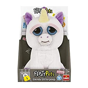Feisty Pets Peluche Unicornio, color