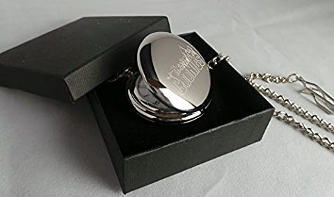 Goonies, GPO Group Exclusive Gift, Retro Movies, Classic Films, The Goonies Silver Plated Masons Of London Half Hunter Pocket Watch, In Black Presentation Box