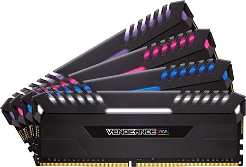Buy Corsair CMR32GX4M4C3333C16 Vengeance RGB 32GB (4x8GB) DDR4 3333MHz C16 XMP 2.0 Enthusiast RGB LED Illuminated Memory Kit – Black Online