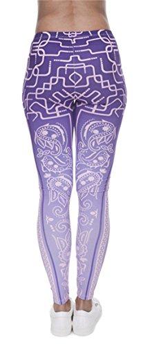 Alive Damen Leggings One size Amethyst
