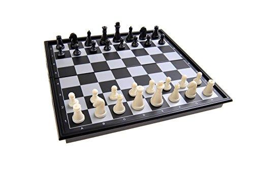 Magnetisches-Brettspiel-kompakte-Reisegre-Schach-magnetische-Spielsteine-Spielbrett-zusammenklappbar-20x20x2cm-Mod-SC5477-DE Quantum Abacus Magnetisches Brettspiel (kompakte Reisegröße): Schach – magnetische Spielsteine, Spielbrett zusammenklappbar, 20x20x2cm, Mod. SC5477 (DE) -