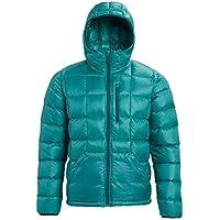 Burton Evergreen Hooded Down Insulator Chaqueta Funcional, Hombre, Green-Blue Slate, L