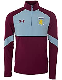 97eb9b5bf1 2016-2017 Aston Villa Half Zip Training Top (Royal Magenta)