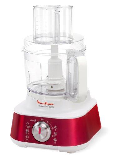 Moulinex FP659 Masterchef 8000 Robot da cucina, rosso/bianco