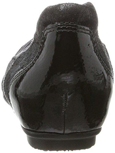 Tamaris 22102, Ballerine Donna Nero (Black Comb)