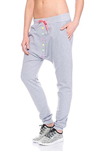 Fashion Flash - Pantalon de sport - Femme gris gris taille unique Gris