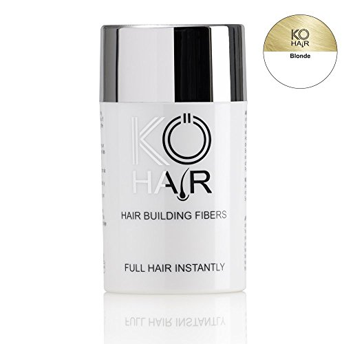 KÖ-HAIR Fibers Relleno para el cabello para un aumento del cabello Color rubio