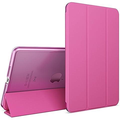 nica Smart Case Apple iPad Mini 4 Tablet Caso Ultrasottile Slim Cover - Multi Supporto Verticale Funzione Automatica Sveglia / Riposo - Pink Rosa - Partito Personalizzati Mini