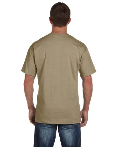 Fruit of the Loom T-Shirt Baumwolle mit 3931P Beige - Khaki