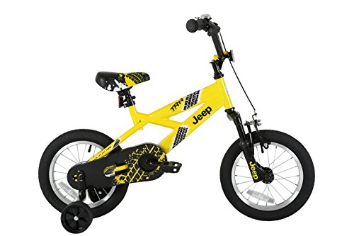 JEEP Kids' TR14 Bmx Bike, Yellow Best Price and Cheapest