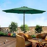 Luxury Center Pole Umbrella Garden Umbre...