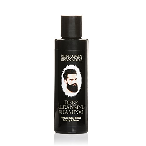 Tiefenreinigendes Shampoo von Benjamin Bernard - für fettiges Haar & zur Entfernung von Produktrückständen - kraftvoll & effektiv - 150 ml