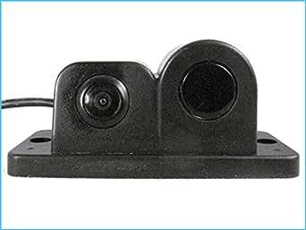 Vidéo Support de capteur de stationnement Avec 2 en 1 caméra et capteur de stationnement Buzzer intégré C712