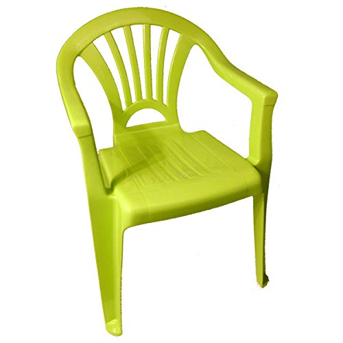 Kinderstuhl Plastik Gartenstuhl Stapelstuhl Kindersitz stapelbar Farbe(n) nach Auswahl Maße (H/L/B)...
