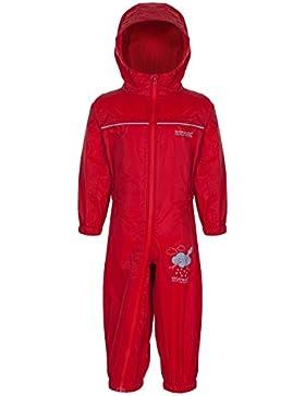 Regatta Children's Puddle IV - Mono infantil impermeable, Niños, color Pepper, 24-36  meses(98 EU)