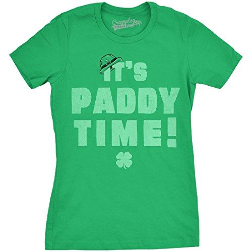 crazy-dog-tshirts-womens-its-paddy-time-funny-saint-patricks-day-lucky-irish-t-shirt-green-xxl-camis